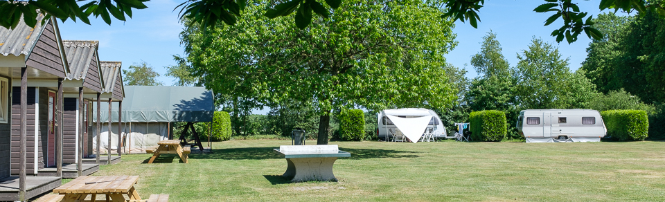 Knollegruun camping zomer